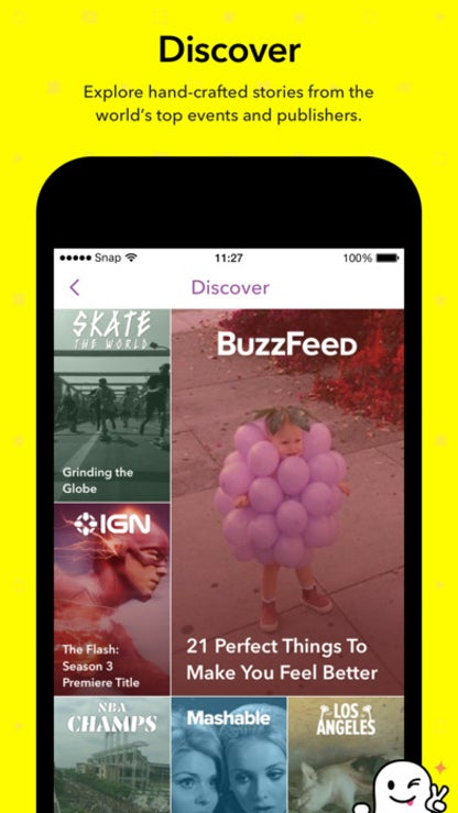 Snapchat for iOS image
