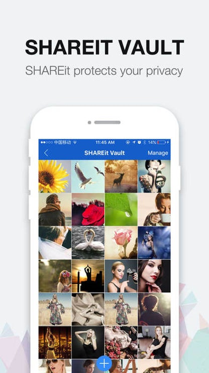 SHAREit - Connect & Transfer for iOS image