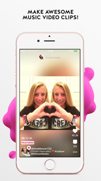 Funimate video editor: add cool effects to videos for iOS image