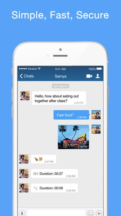 BOTIM - video calls and chat for iOS image