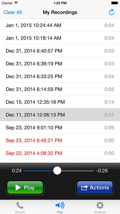 Call Recorder Lite - Record Phone Calls for iPhone for iOS image