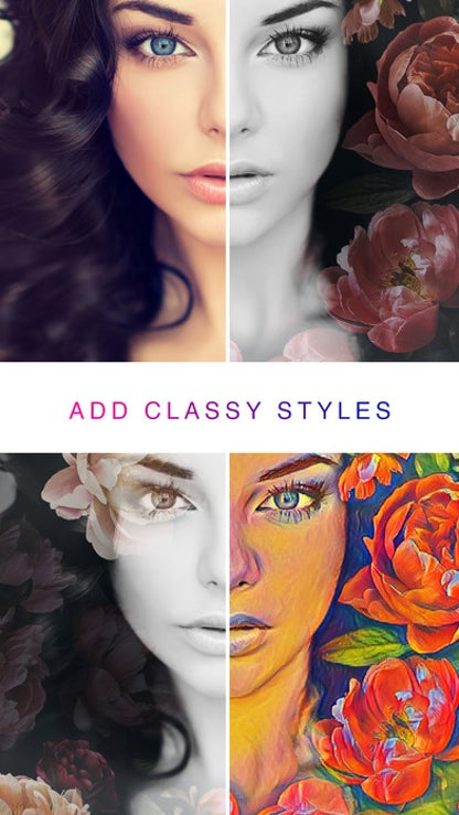 Photo Lab: pics art filters, frames & edit photos for iOS image
