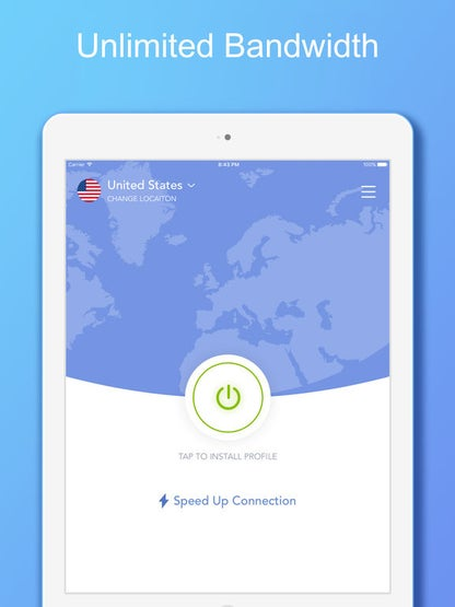 VPN 360 - Unlimited VPN Proxy for iPhone and iPad for iOS image