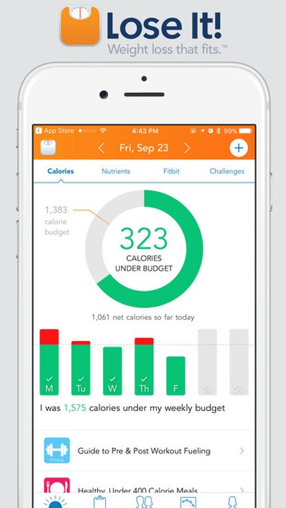 Lose It - Calorie Counter and Weight Loss Tracker for iOS image
