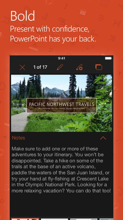 Microsoft PowerPoint for iOS image