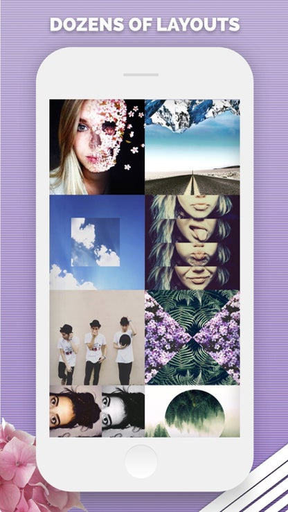 Split Pic Photo Collage Editor for iOS image