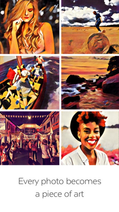 Prisma: Photo Editor, Art Filters Pic Effects for iOS image