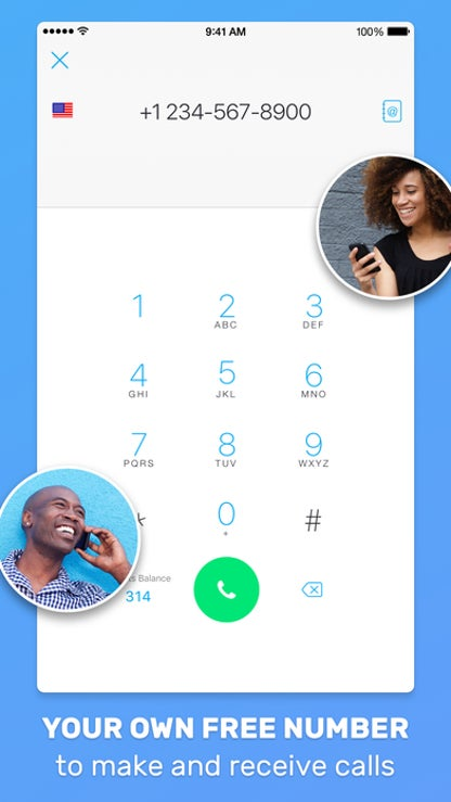 Text Me - Texting, Messaging, Phone Call, Number for iOS image