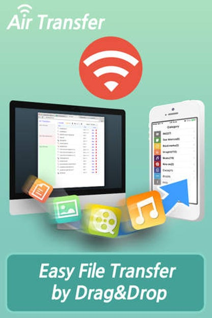 Air Transfer - File Transfer from/to PC thru WiFi for iOS image
