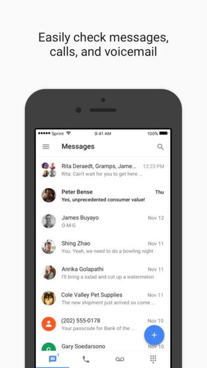Google Voice for iOS image