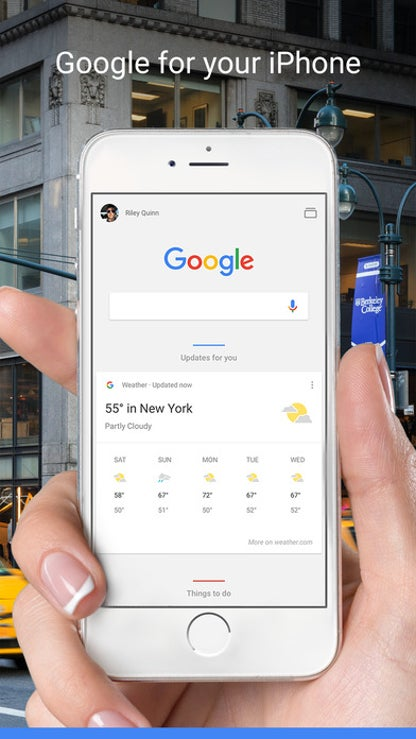 Google - Search made just for mobile for iOS image