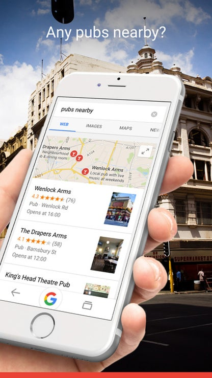 Google Mobile App for iPhone for iOS image