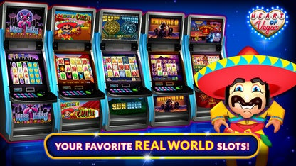 Heart of Vegas Slots Casino for iOS image