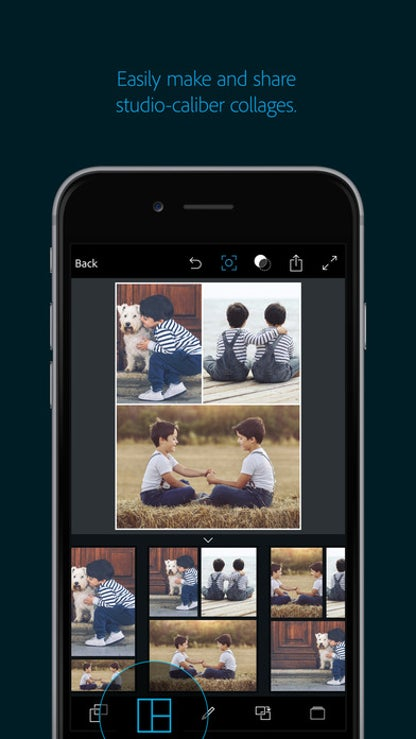 Adobe Photoshop Express:Photo Editor Collage Maker for iOS image