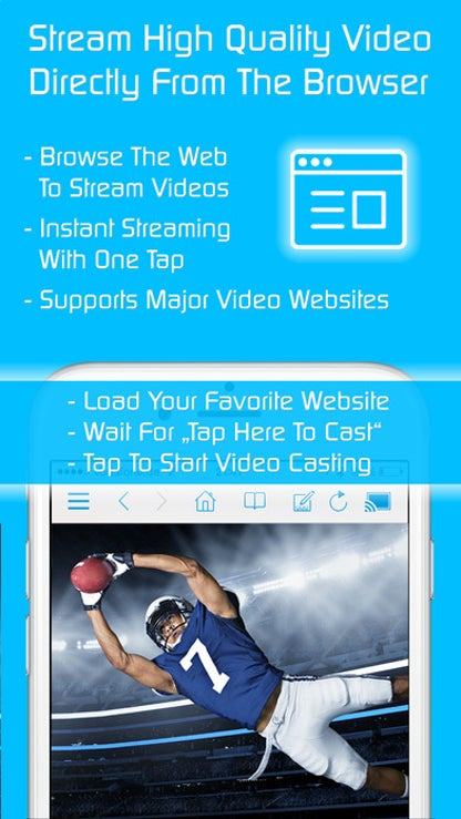 Video & TV Cast for Samsung Smart TV with Remote for iOS image