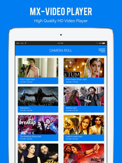 MX Video Player - HD Video Player For iPhone, iPad for iOS image