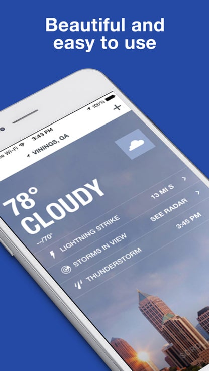 The Weather Channel: Forecast, Radar & Alerts for iOS image