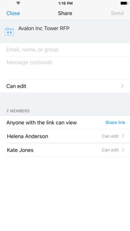 Dropbox - Backup, Sync, Share for iOS image