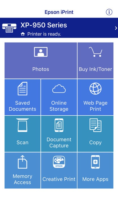 Epson iPrint for iOS image