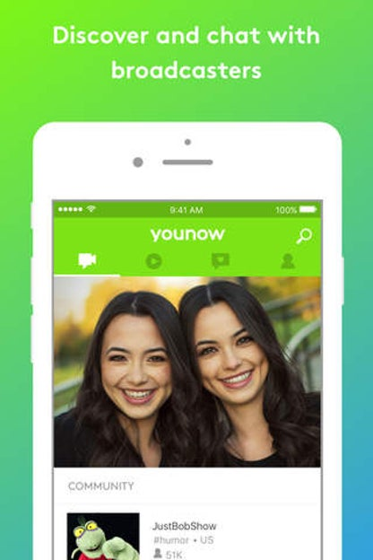 YouNow: Live Stream Video Chat for iOS image