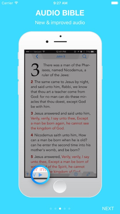 The Holy Bible - King James Version for iOS image