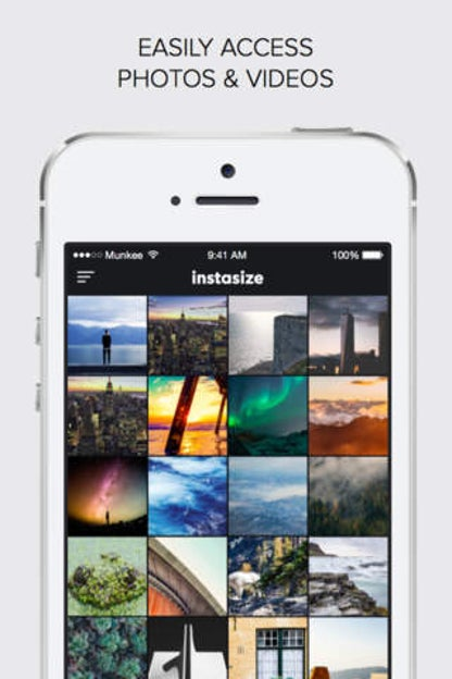InstaSize: Photo Editor, Picture Effects & Collage for iOS image
