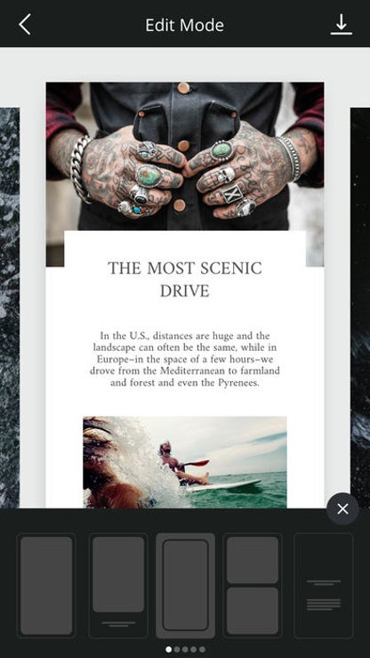 Unfold: Stories for iOS image