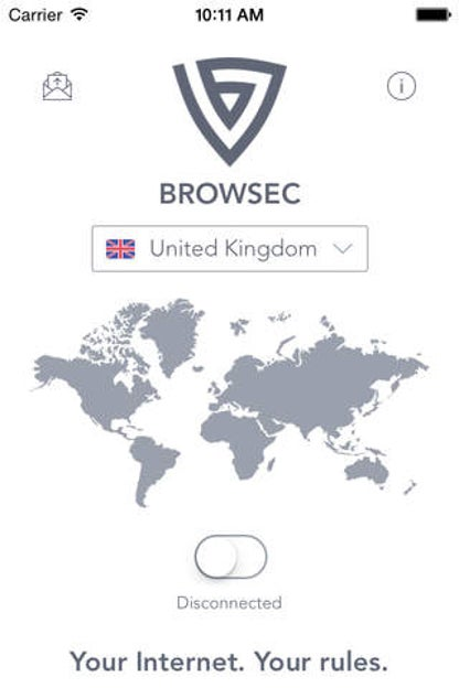 Browsec VPN - Proxy VPN for Wi-Fi Hotspots for iOS image