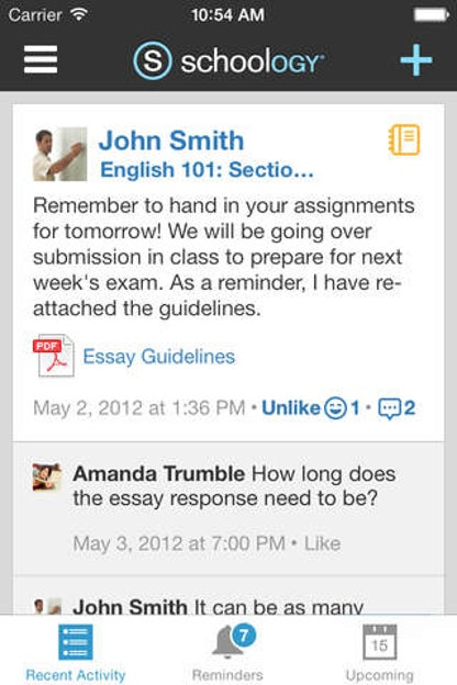 Schoology for iOS image