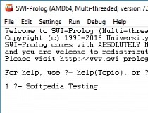 SWI-Prolog Screenshot
