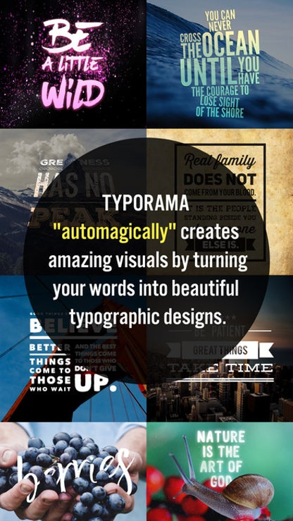 Typorama: Text on Photo Editor for iOS image