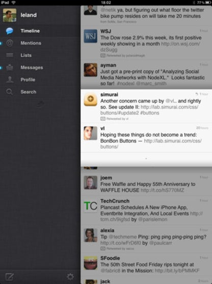 Twitter for iOS image