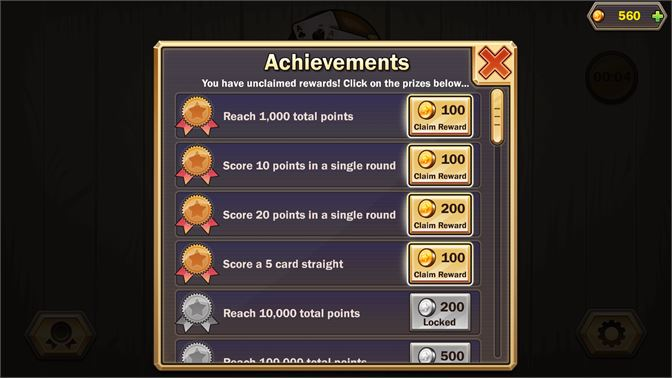 Earn prizes by unlocking fun and challenging achievements.