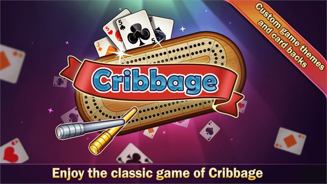 Enjoy the classic game of Cribbage.