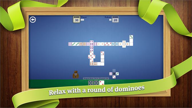 Relax with a round of dominoes.