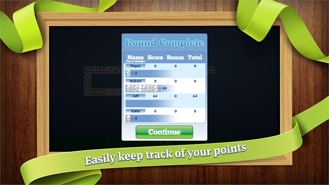 Easily keep track of your points.