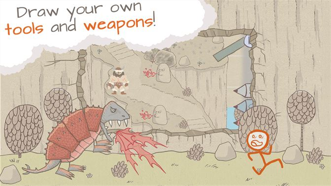 Draw your own tools and weapons!