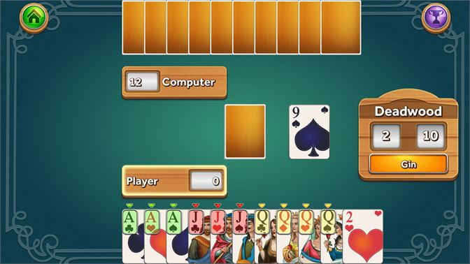Play Gin Rummy Deluxe!