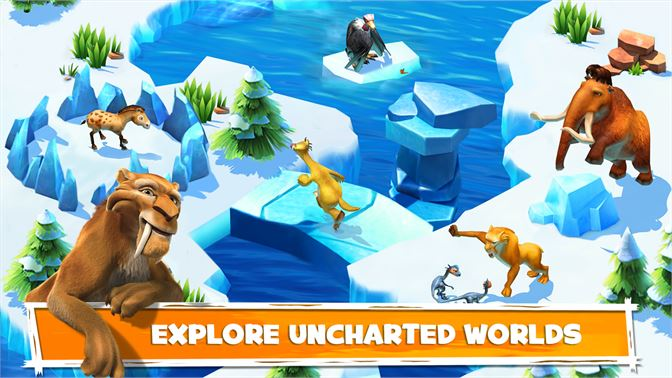 Explore uncharted worlds