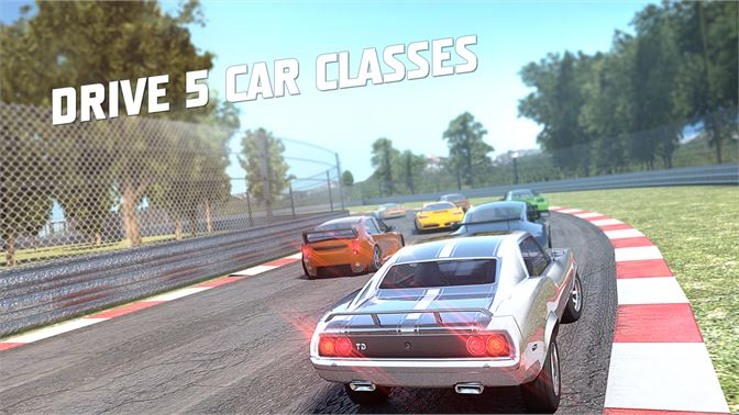 five seasons with different car classes