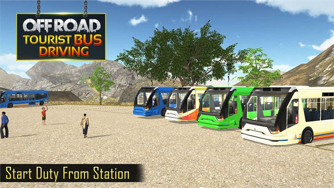 Off Road Tourist Bus Driving