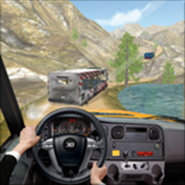 Off Road Tourist Bus Driving - Mountains Traveling Free +