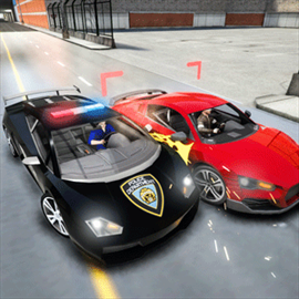 Police Car Chase Driving Simulator Free