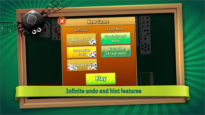 Infinite undo and hint features.