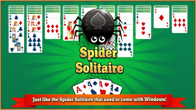 Just like the Spider Solitaire that used to come with Windows!