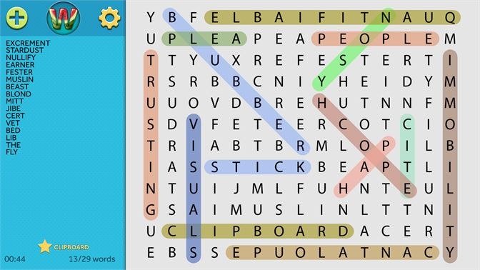 Download Simple Word Search for FREE today!
