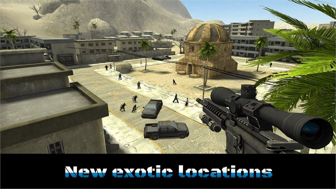 New exotic locations!
