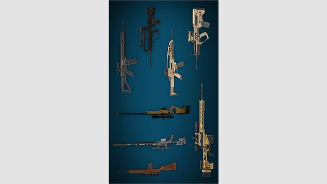 Many different weapons!