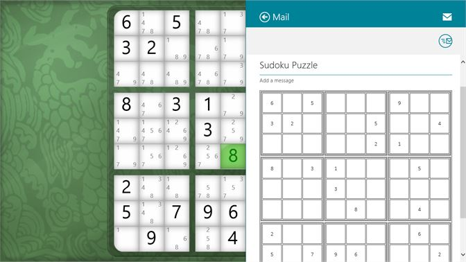 Share puzzles with other apps.