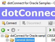 dotConnect for Oracle Express Edition Screenshot